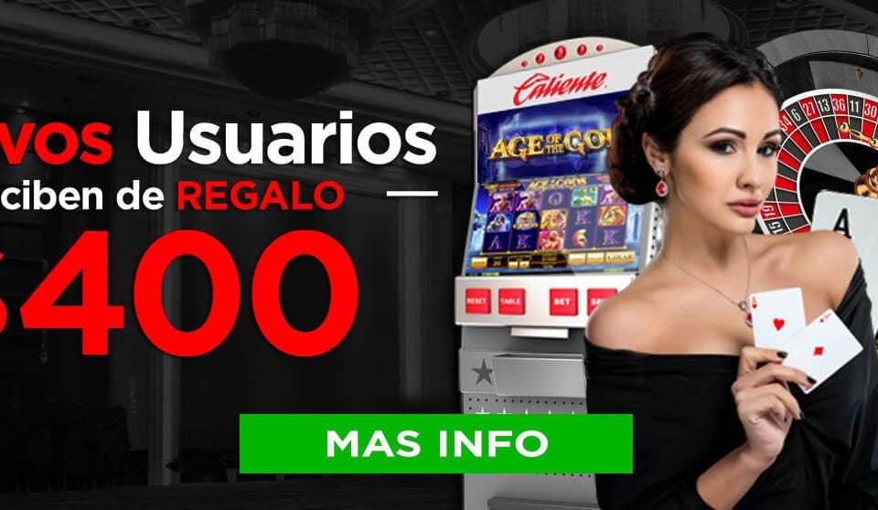 Oferta exclusiva de Caliente Casino