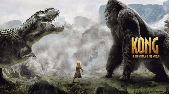 King Kong game designed in the best traditions of the genre