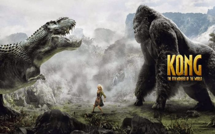 King Kong game designed