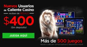 Caliente casino casino reseña  casino bonos