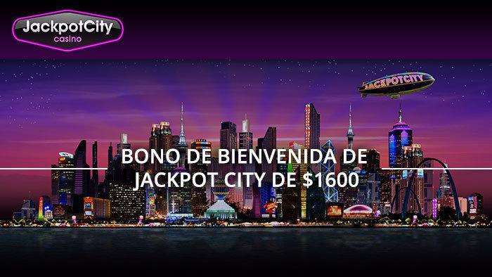 Jackpot City   Bienvenida hasta 1600$