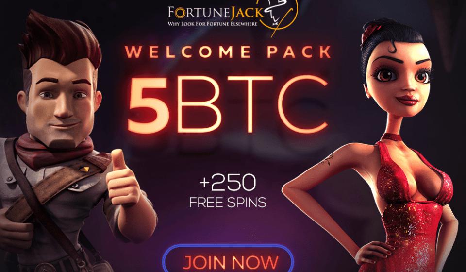 PAQUETE DE BIENVENIDA fortune jack casino
