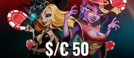 ¡Chip de $ 50 para nuestros nuevos jugadores!