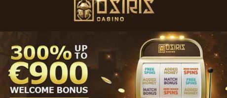 Osiris Casino: Claim 300%