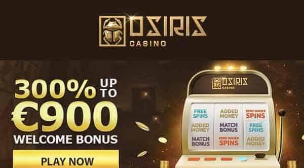Osiris Casino: Claim 300%|bono de bienvenida|casino en línea