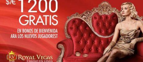 Royal Vegas casino 1200 gratis