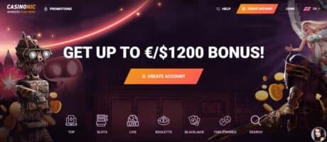 casinonic|bono sin deposito|casino en línea