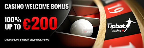 100% up to €200 Welcome Bonus at Tipbet