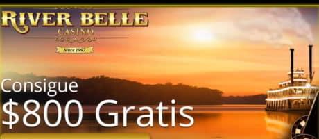 BONOS Y PROMOCIONES - $800 GRATIS river belle casino