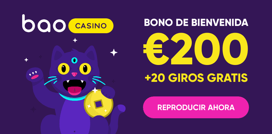 Bono de bienvenida baocasino