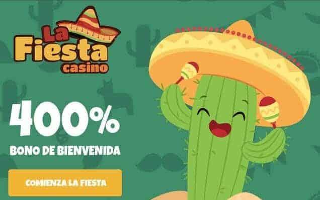 la-fiesta-casino|bono de bienvenida|casino en línea