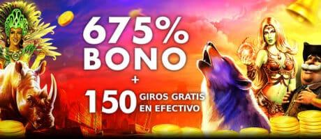 675% bono extravegas