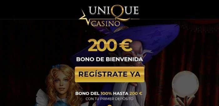 unique-casino bono